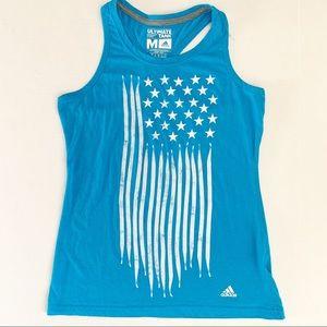 Adidas American Flag Ultimate Tank Top